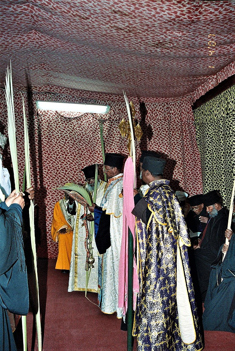 דיר א סולטאן כנסיית הקבר