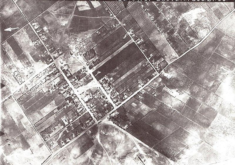 טיסת צילום מעל רחובות 1918