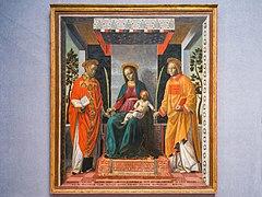 Pinacoteca Tosio Martinengo Pala della Mercanzia Vincenzo Foppa Brescia.jpg