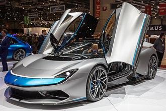 Automobili Pininfarina - The Battista at the 2019 Geneva Motor Show