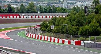 Circuit de Barcelona-Catalunya - Pit lane entrance