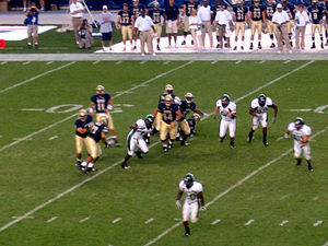 2007 Eastern Michigan Eagles football team - Eastern Michigan playing at Pittsburgh.