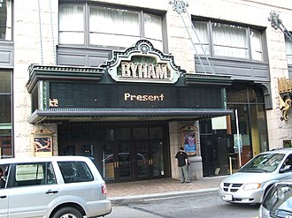 Cultural District, Pittsburgh - The Byham Theatre (formerly the Gayety Theatre).