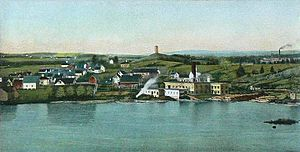 Pittsfield, Maine - View of Pittsfield in 1905