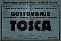 Plakat za predstavo Tosca v Narodnem gledališču v Mariboru 21. maja 1926.jpg