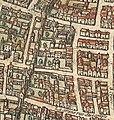 Plan de Paris vers 1530 Braun porte de Chaume et autres.jpg