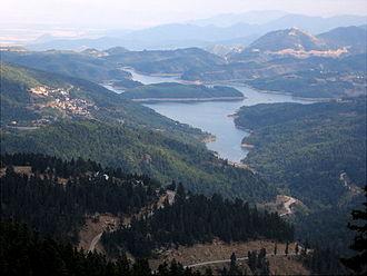 Lake Plastiras - Tavropos Reservoir
