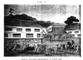 Plate II - Prince Nagatos Residence in Yedo 1864 - Joseph Heco.png
