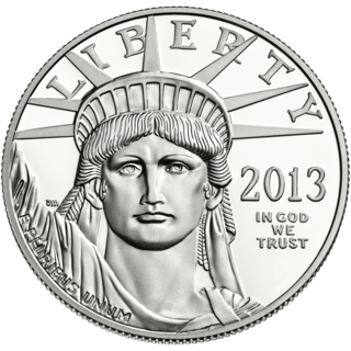 Official platinum bullion coin of the United States