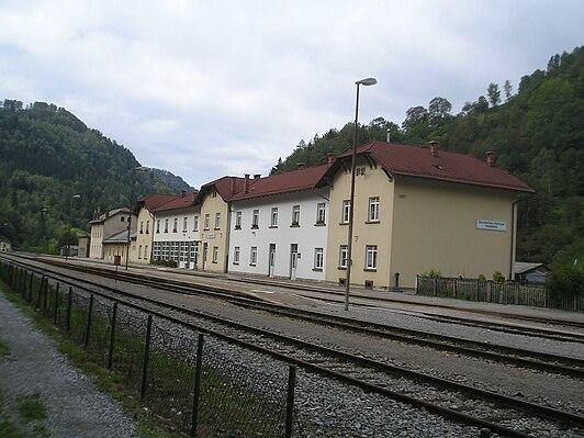 Podbrdo railway station