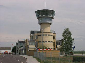 Pécs-Pogány International Airport - Image: Pogany airport