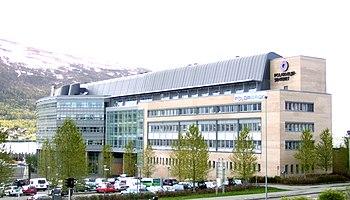 Polarmiljøsenteret, nå Framsenteret, in Tromsø