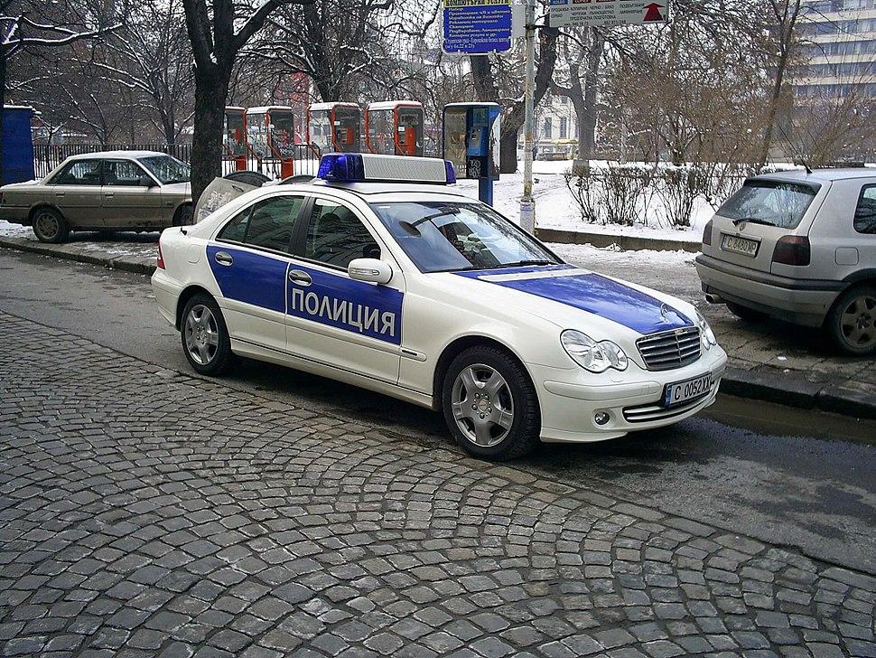 Police car Bulgaria