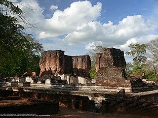Polonnaruwa Town in North Central Province, Sri Lanka