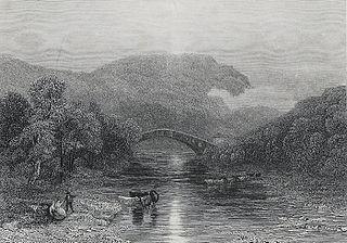 Pont y Prydd: vale of the Taff, Glamorganshire