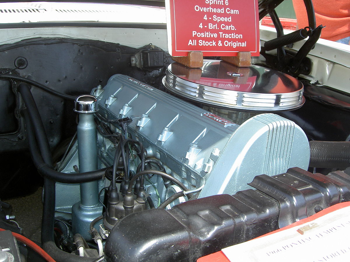 pontiac straight 6 engine