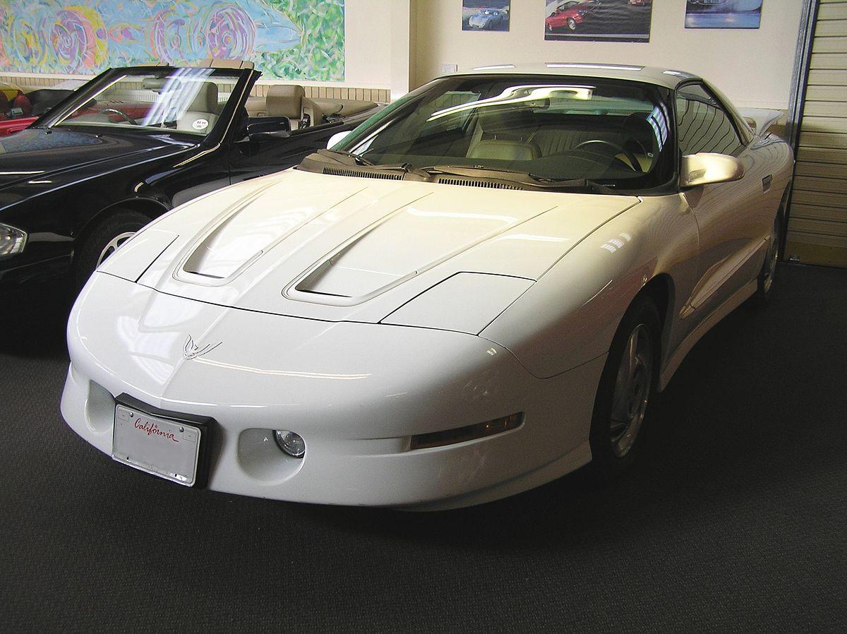 Pontiac Firebird – Wikipédia, a enciclopédia livre