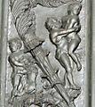 Porta del filarete, 1433-1445, 04, 03 ercole e il leone nemeo, e anteo.jpg