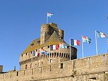 Le donjon du Château de Saint-Malo