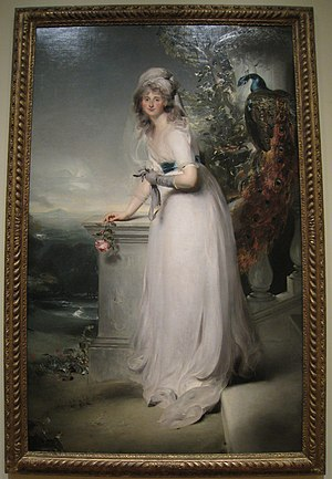 William Tollemache, Lord Huntingtower (1766–1833) - Portrait of Catherine Gray, Lady Manners, by Thomas Lawrence