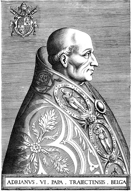 Portrait of Pope Adrian VI (1568) Portrait of Pope Adrian VI.jpg