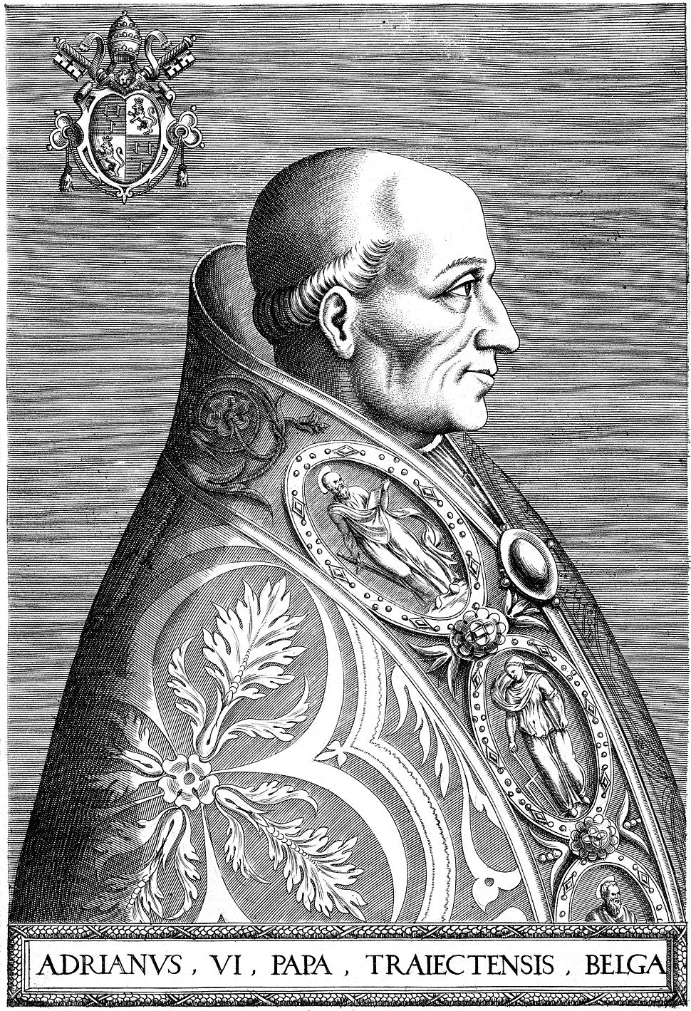 Portrait of Pope Adrian VI