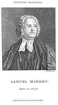 Samuel Madden Irish writer