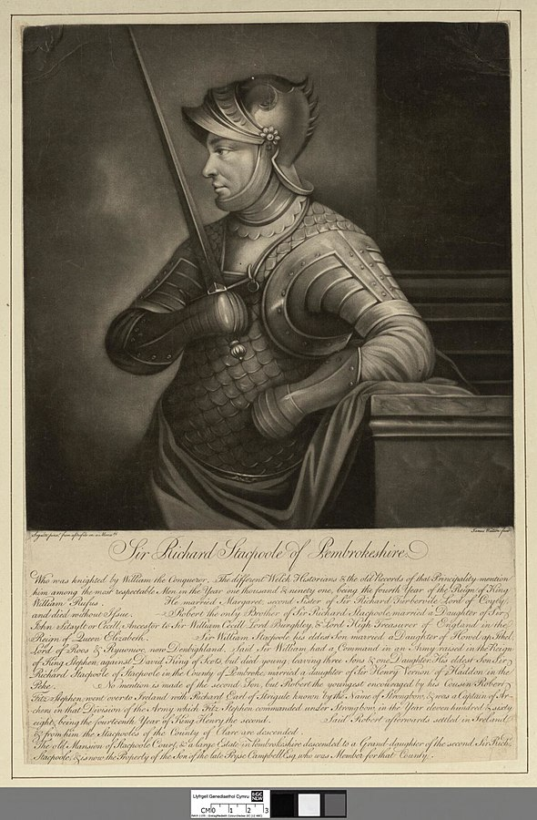 Sir Richard Stacpoole of Pembrokeshire