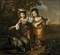 Portrait of Two Children Dressed as Shepherds by Bernard Zwaerdecroon Centraal Museum 6571.jpg