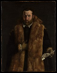 Portrait of a Man in a Fur-Trimmed Coat