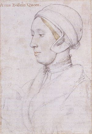 "Portrait of a Woman, inscribed ""Anna Boll..."