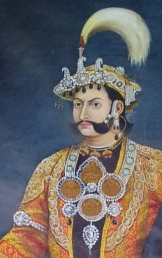 Thapa dynasty - Mathabar Singh Thapa, crowned Mukhtiyar (1843 to 1845 A.D.) of noble Chhetri Thapa.