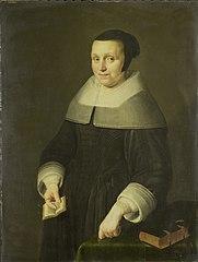 Portrait of a Woman, possibly Elsje van Houweningen, Wife of Willem van de Velden