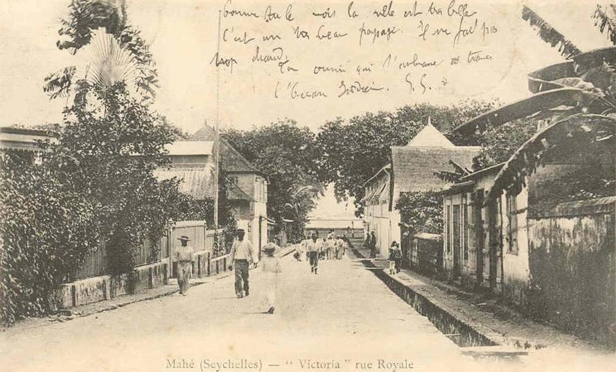 Postcard Mahe 1903