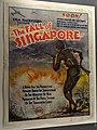 Poster for Japanese Propaganda Film on The Fall of Singapore - Singapore National Museum - Singapore (34903058523).jpg