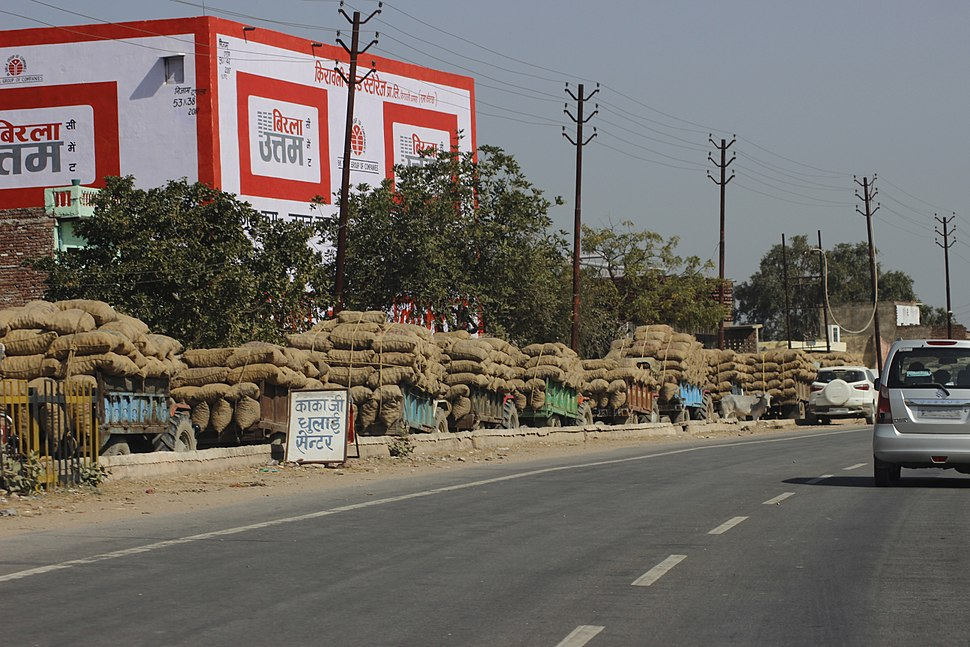 Potato transportation to cold storage in India (1)