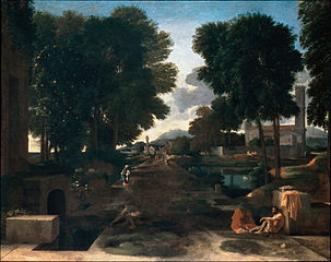 Landscape with Travellers Resting, known as A Roman Road