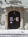 Praha, Mala Strana, Misenska 12 - U bile kuzelky (portal).jpg