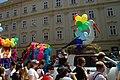Praha, Staré Město, Prague Pride 2012, alegorický vůz.jpg