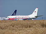 Praha-Ruzyně, odstavené letadlo OK-XGC.jpg