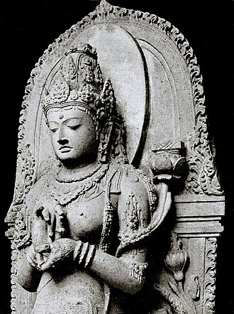 Tara (Buddhism) - Tara as Prajñāpāramitā, 13th century, Java, Indonesia.