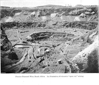 Premier Mine - Premier Mine, South Africa, before 1903