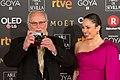 Premios Goya 2018 - Carlos Saura y Ana Saura 01.jpg