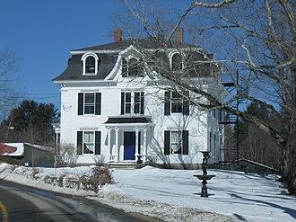 Benjamin Franklin Prescott House - Image: Prescott House Epping NH 021813