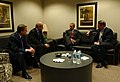 President George W. Bush meets with William Clay Ford Jr., Dieter Zetsche, and Richard Wagoner.jpg