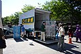 President Transnet Truck Unloading Empty Roll Containers in NTU Sports Center Square 20140727.jpg