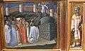 Priamo della quercia, polittico, 1430 ca., da ex chiesa di tramonte di brancoli (LU), predlla 02 apparizione di s. michele e s. lorenzo.JPG
