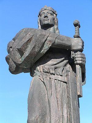 Slovaks - Image: Pribina, Nitra (2008)