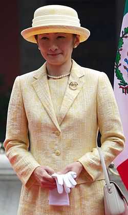 Prince and Princess Akishino during their visit to México City (2014) (3) (cropped).jpg