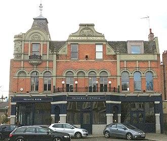 Uxbridge Road - Princess Victoria Pub in 2015